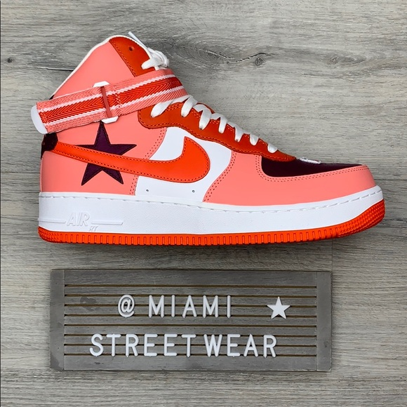 Riccardo Tisci x Nike Air Force 1 High: Straat Out The Box